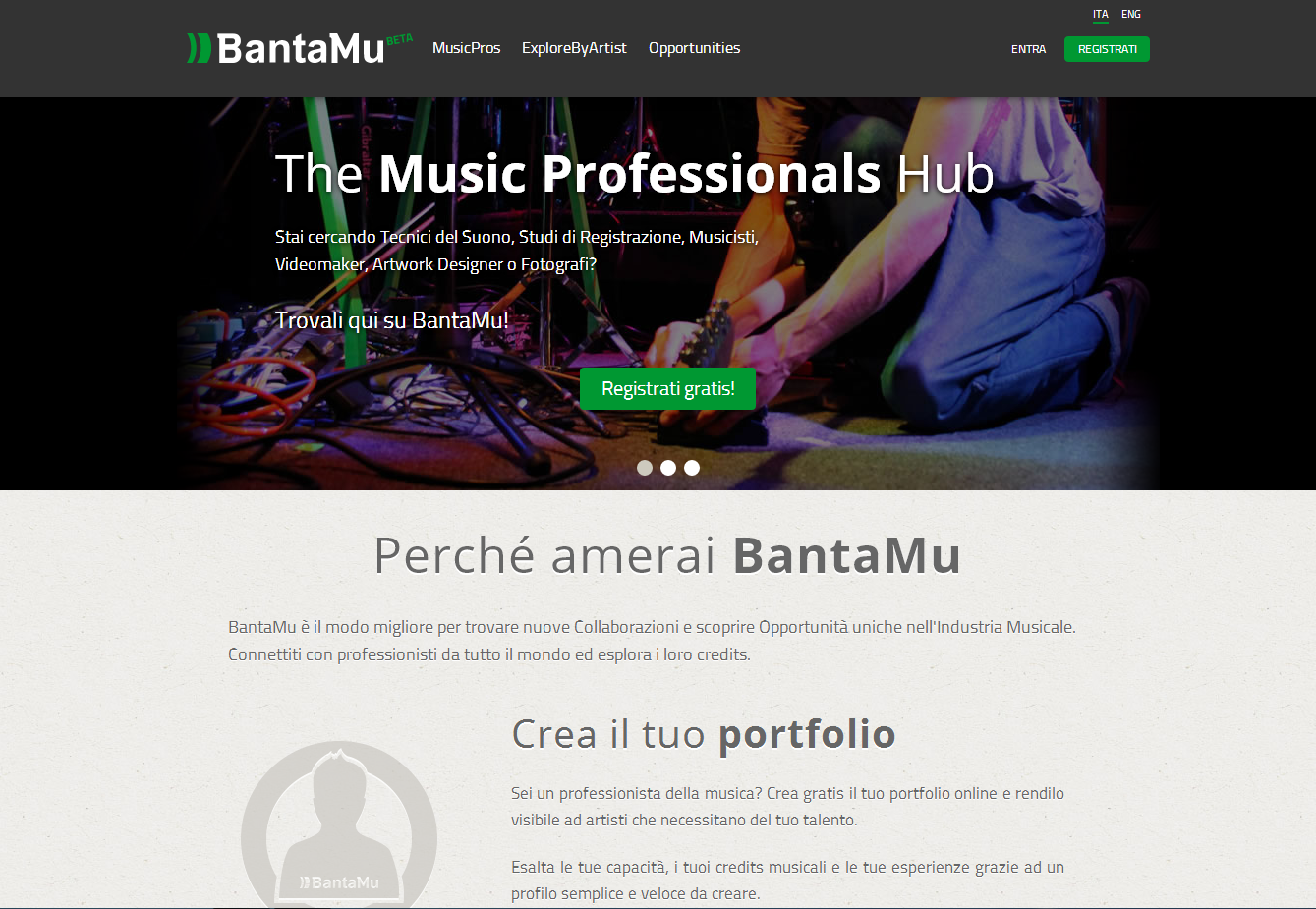 Homepage BantaMu
