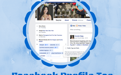 Facebook Profile Tag