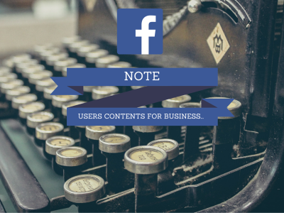 facebook note business