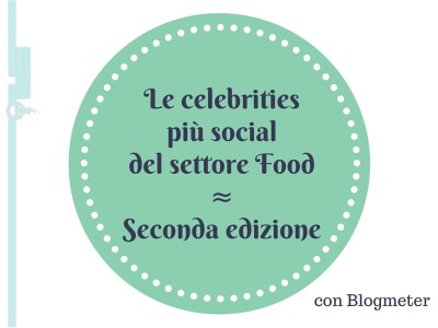 Celebrities social settore food