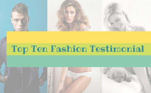 Top Ten Fashion Testimonial sui Social Network