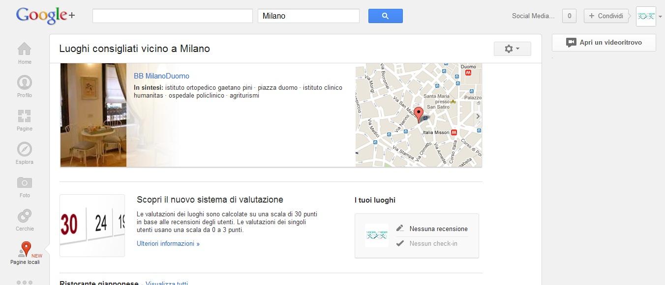 Google Plus lancia Local e aggiunge le recensioni di Zagat.com