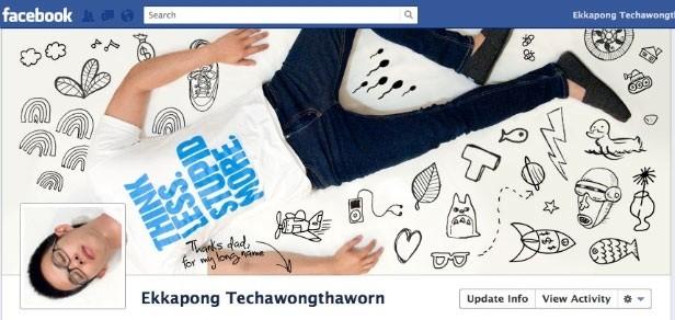 Facebook Timeline creativa - Ekkapong Techawongthaworn
