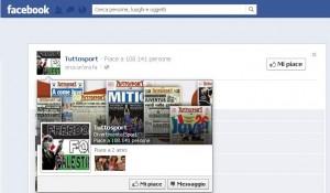Cambio immagine profilo hackerato TuttoSport