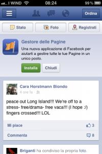 Installa Gestore delle Pagine Facebook