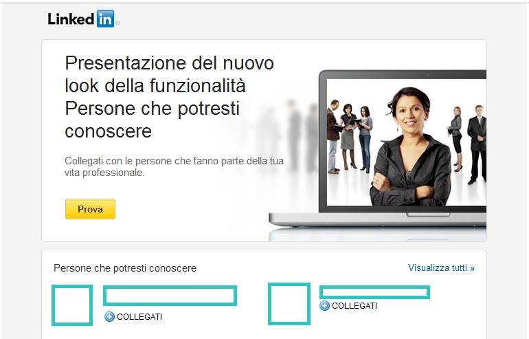 Photo of LinkedIn restyling