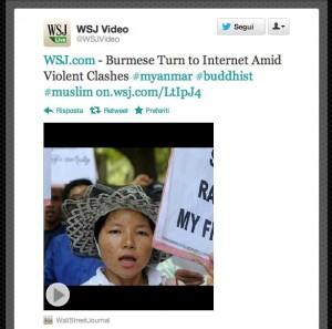 WSJ Video su Twitter - servizio anteprima Video