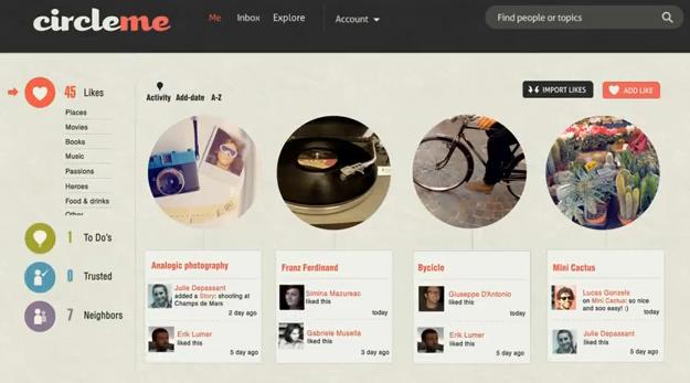 CircleMe screenshot