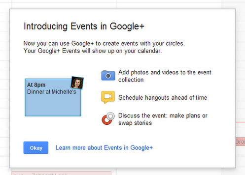 Photo of Google+ Events