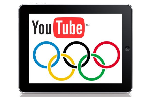 I Giochi Olimpici su YouTube