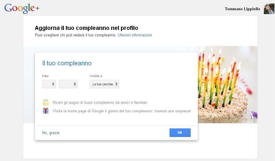 Photo of E' il tuo Compleanno? Google ha una sorpresa per te