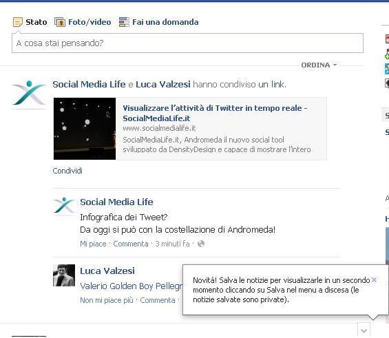 Salva Notizia - Facebook