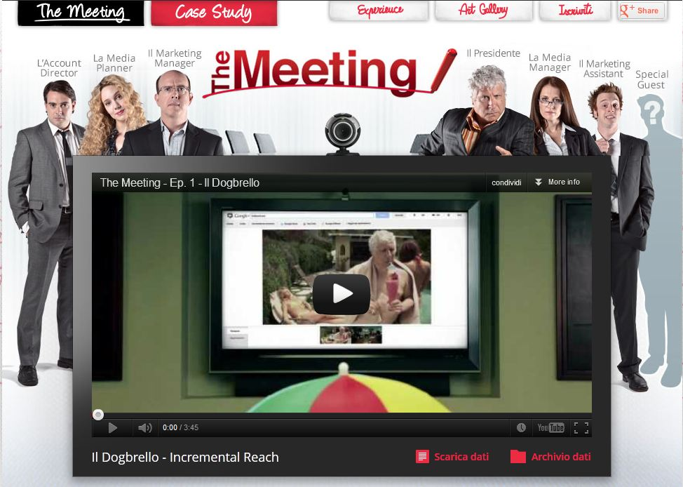 Photo of Interactive self-advertising su YouTube