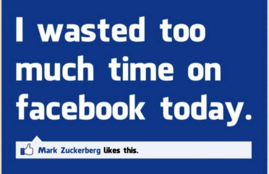 Facebook - Spreco di tempo