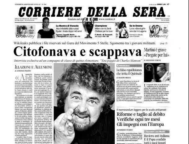 Beppe Grillo Citofonava e scappava - Il Corriere