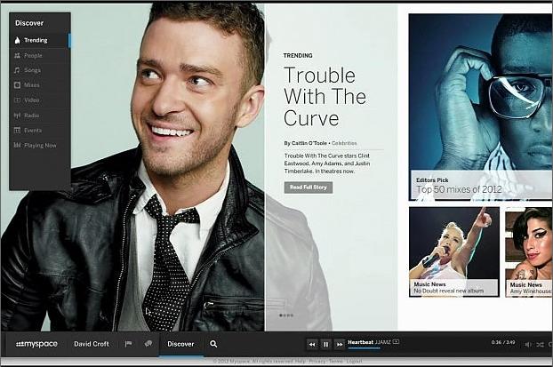 Justin Timberlake su MySpace