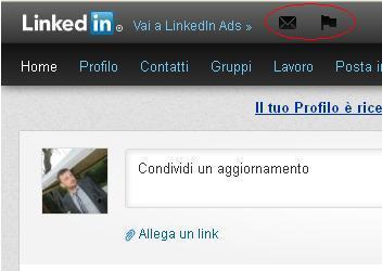 Photo of Messaggi e Notifiche in Primo Piano: porte aperte alla Pubblicità su LinkedIn