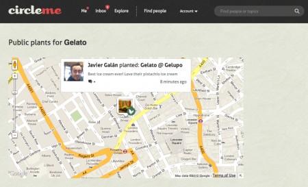 CircleMe.com - Geolocalizzare i propri interessi sul Web