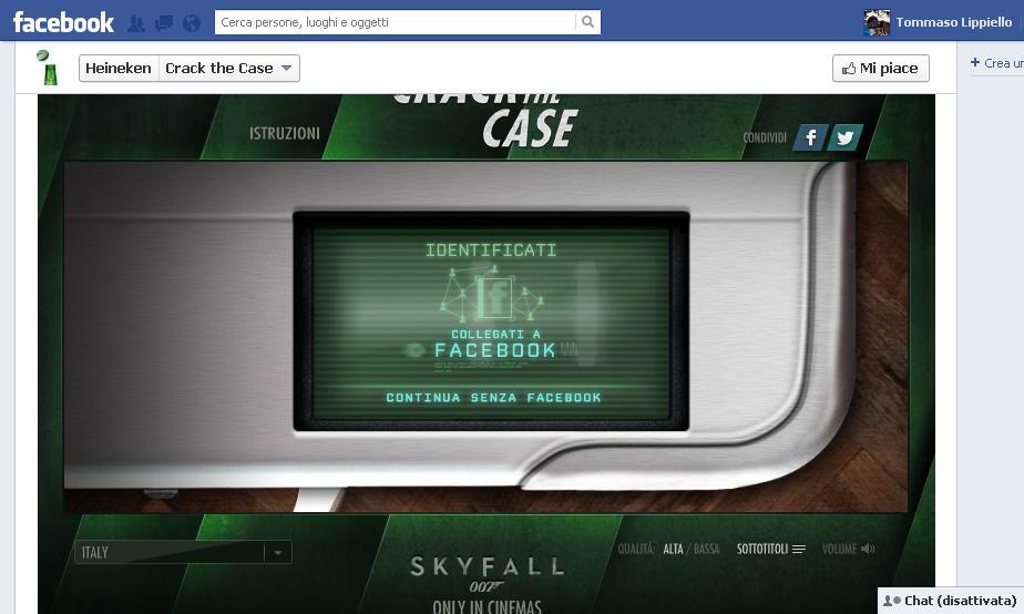 Crash the Case - App gioco interattivo