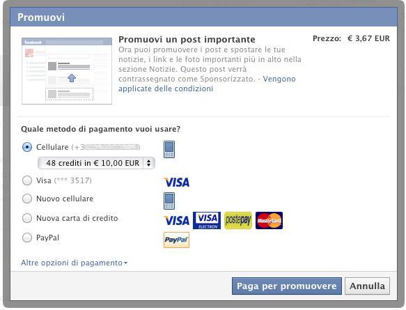 Photo of Arriva Promuovi, la nuova funzione Business di Facebook