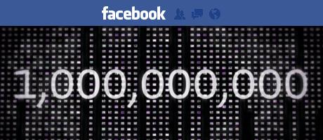 Facebook raggiunge 1 miliardo di utenti