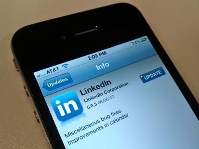 LinkedIn - App per Mobile