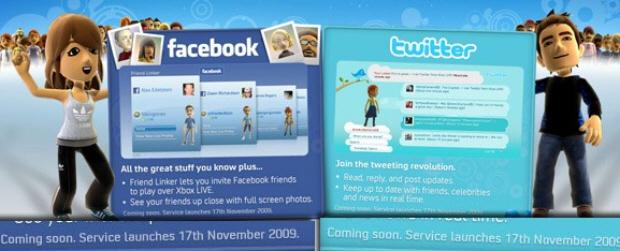 Microsoft disattiva Facebook e Twitter dal Xbox 360 Marketplace
