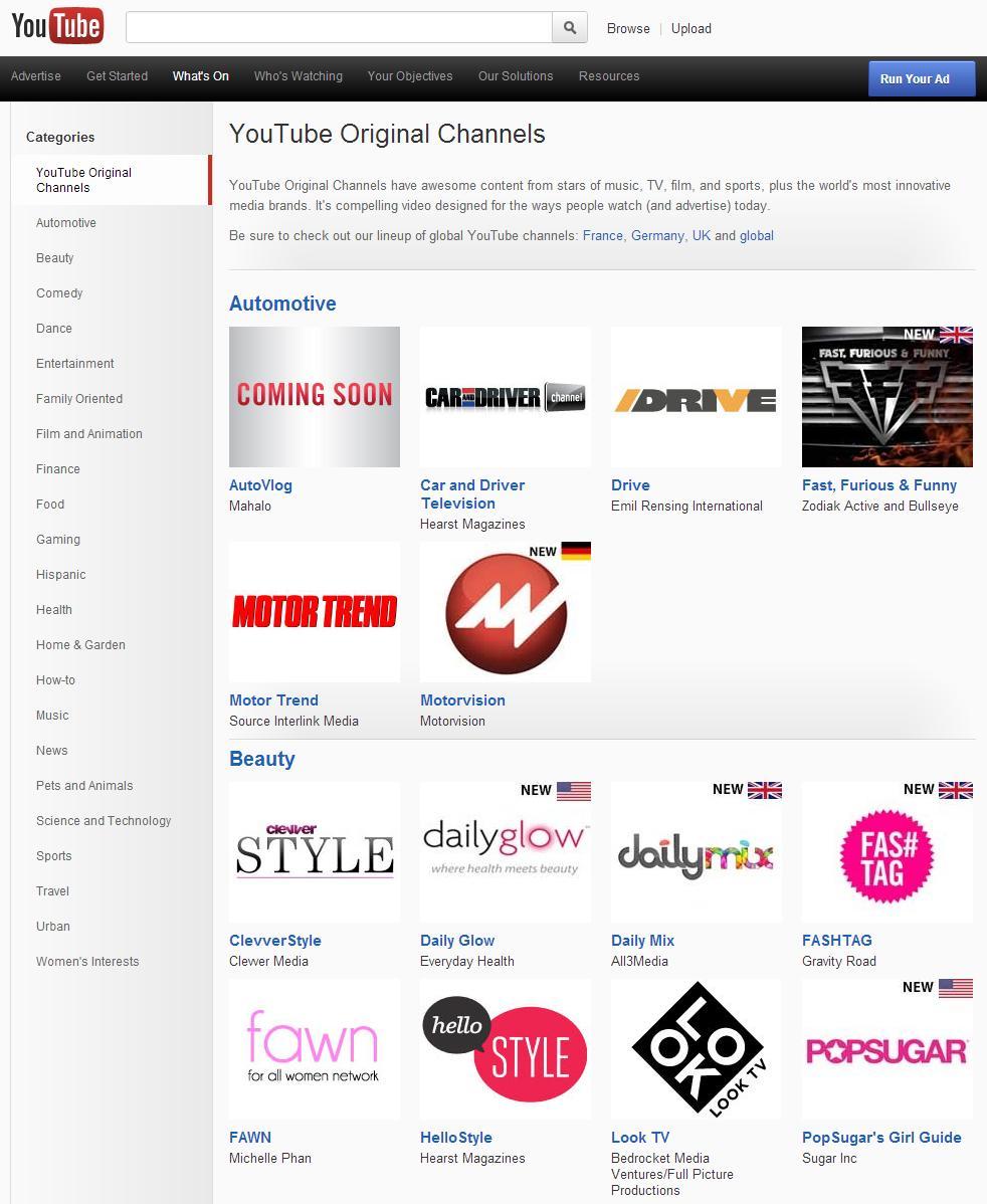 Photo of YouTube in Europa arriva con 60 canali nuovi per il nuovo anno