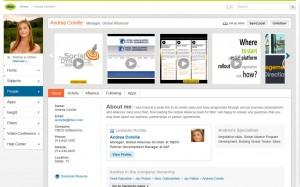 Profilo utente su Tibbr