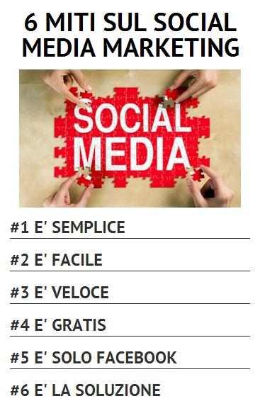 6 Miti sui Social Media