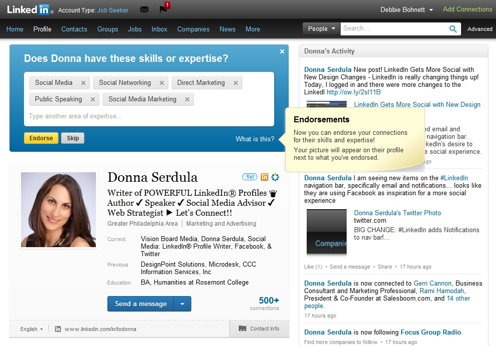 Photo of Raccomandazioni su LinkedIn