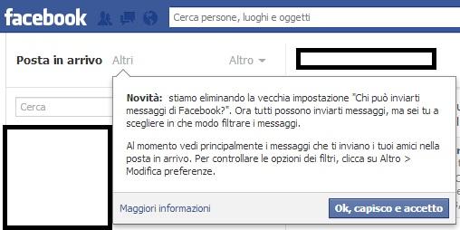 Photo of Messaggi più restrittivi su Facebook