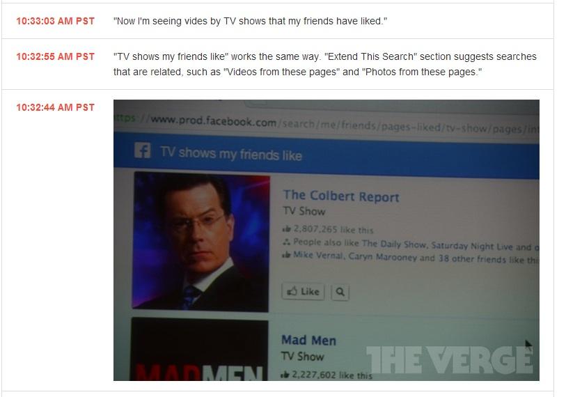 Serie TV preferiti dai miei amici Facebook