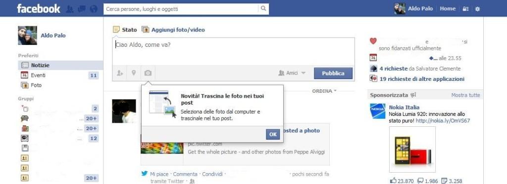 Novità Facebook 5