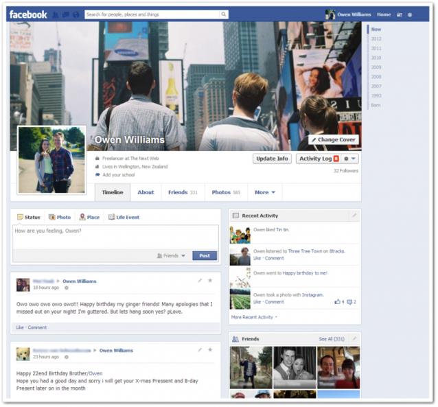 Photo of Facebook: il nuovo diario arriva dalla Nuova Zelanda