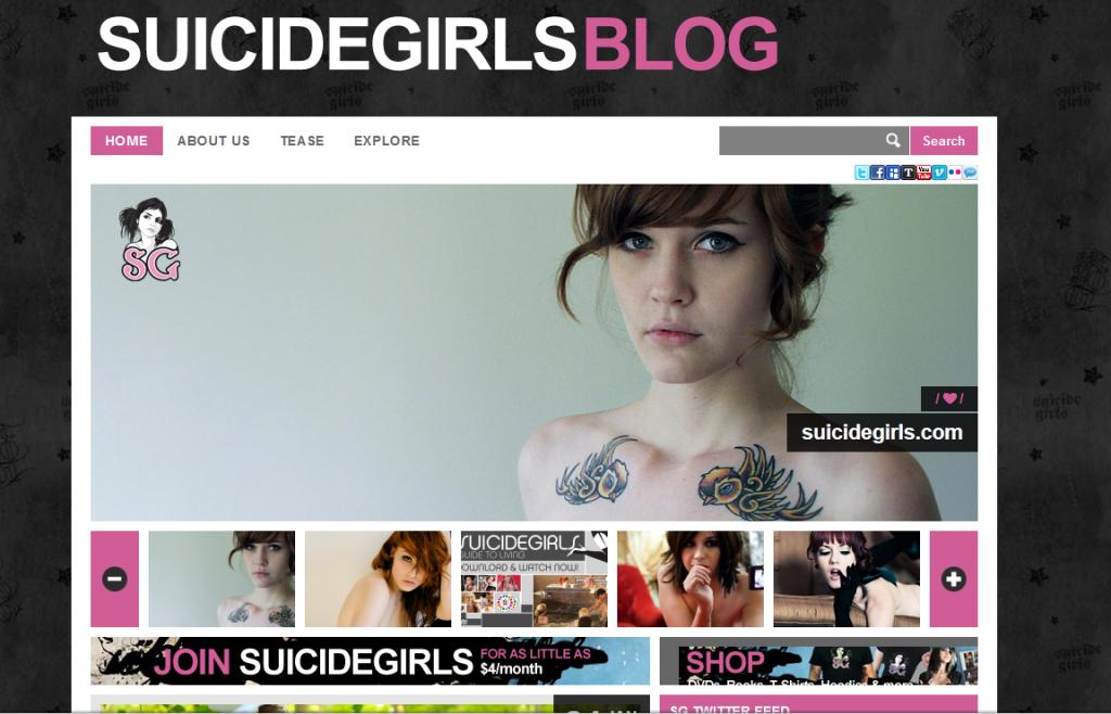 Il Blog delle Suicide Girls