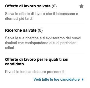 Archivio Offerte e Candidature lavoro LinkedIn