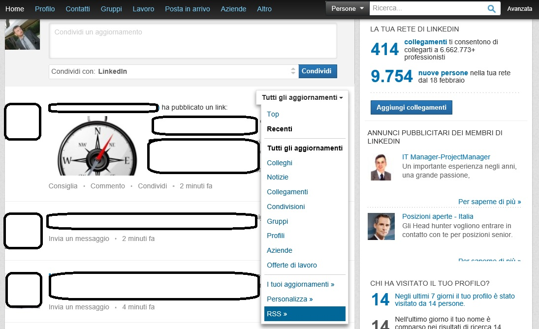 Photo of LinkedIn dice addio ai Feed RSS