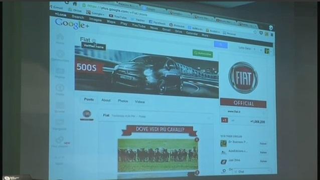Brand Page Fiat Google Plus