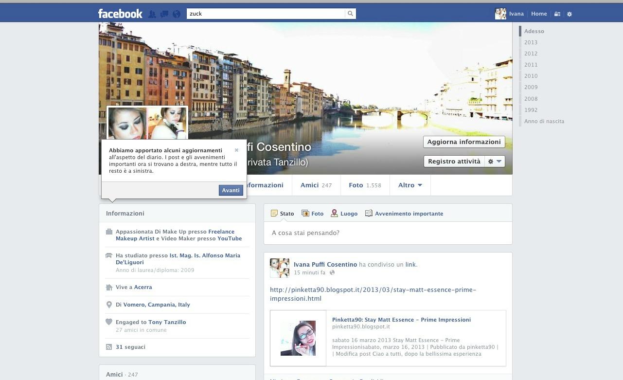 Photo of Arriva il nuovo (ancora??) profilo di Facebook