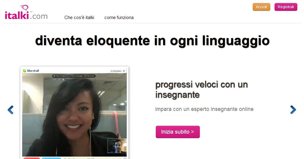 Italki.com - Apprendimento lingue straniere