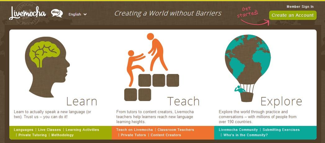Livemocha.com - Social formazione lingue straniere
