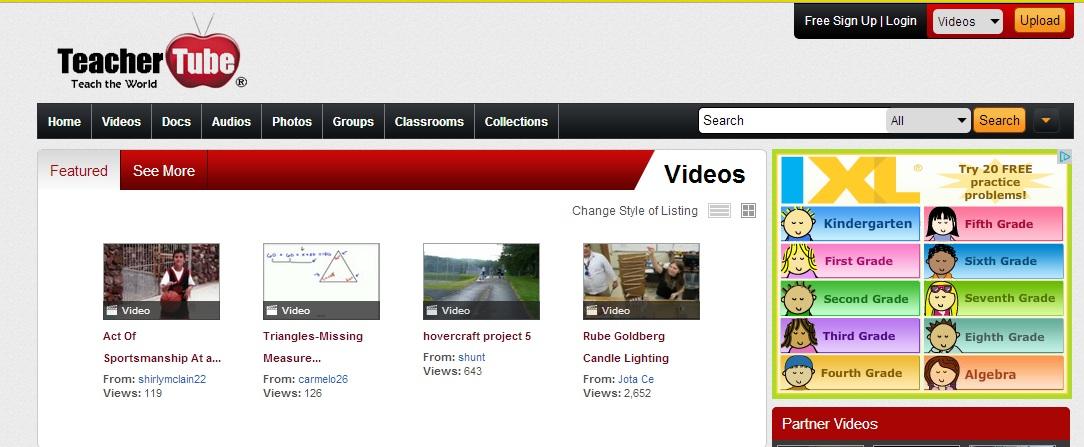 TeacherTube.com - Lo YouTube degli insegnanti
