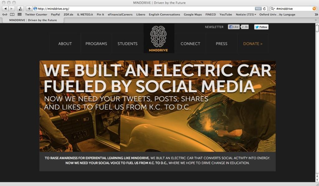 Minddrive  - il motore social elettrico
