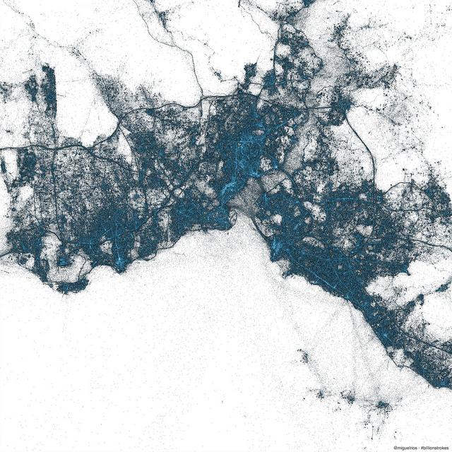 Mappa Tweet da Istanbul