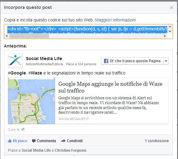 Photo of Posta i Post di Facebook dove vuoi!