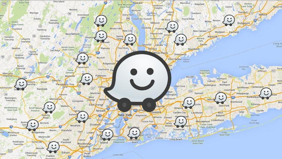 google maps + waze