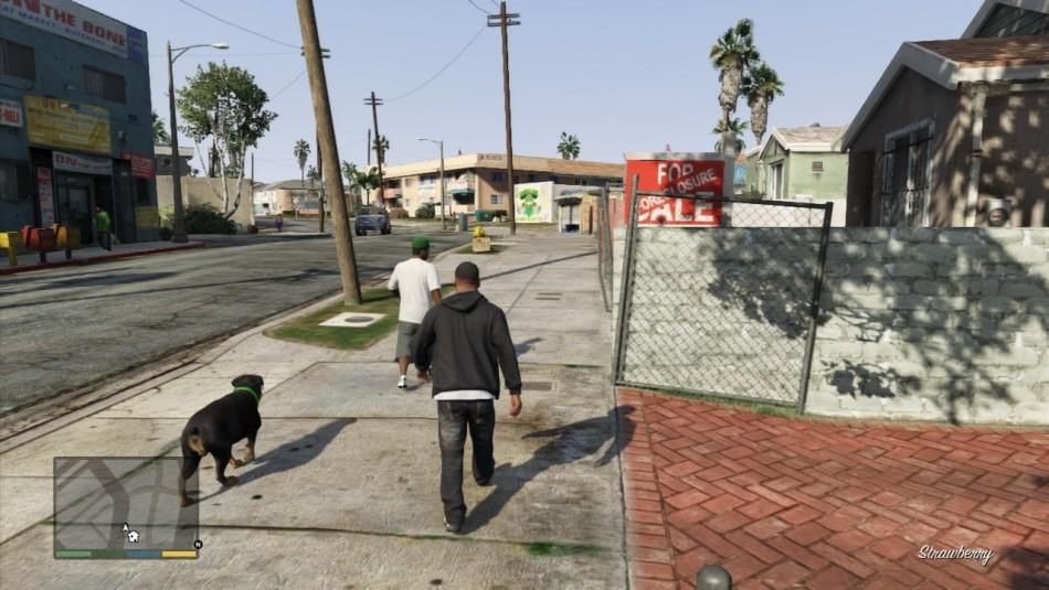 Scene di gioco GTA V