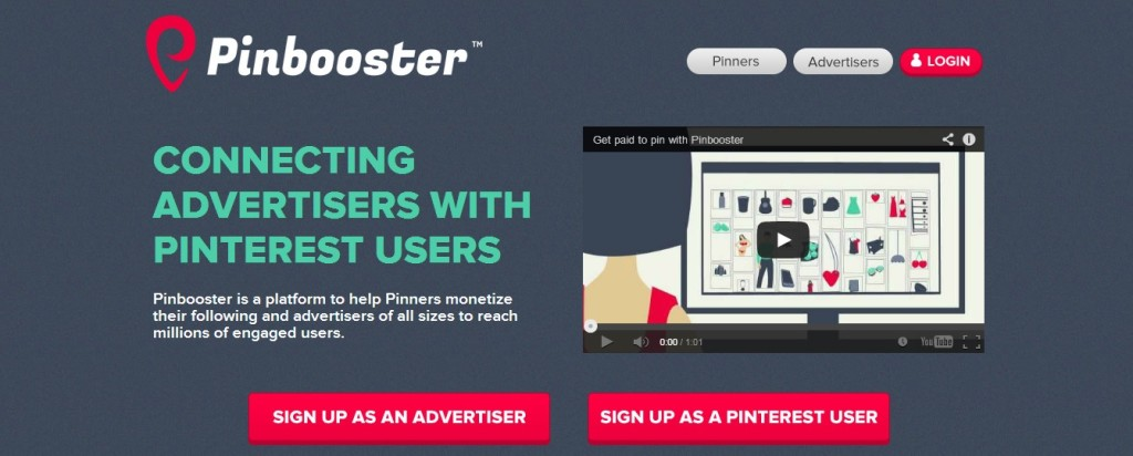 Pinbooster - Monetizzare con Pinterest