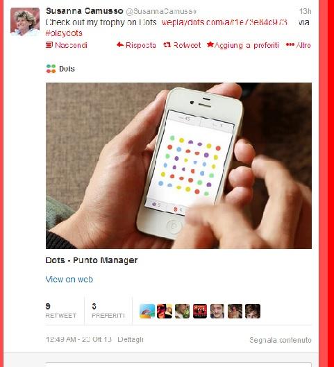 Susanna Camusso gioca a Dots - Twitter